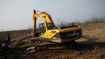 二手现代挖掘机215-9机  价格:29.6万元