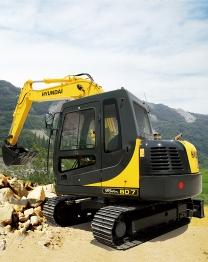 Excavators R80-7